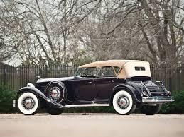 1932 Packard Individual Custom Twelve Sport Phaeton