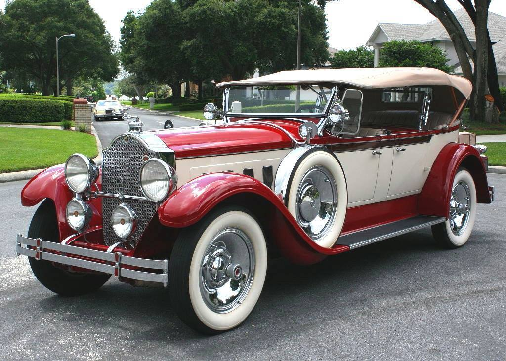 1929 Packard 640 Custom Eight Dual Cowl Sport Phaeton