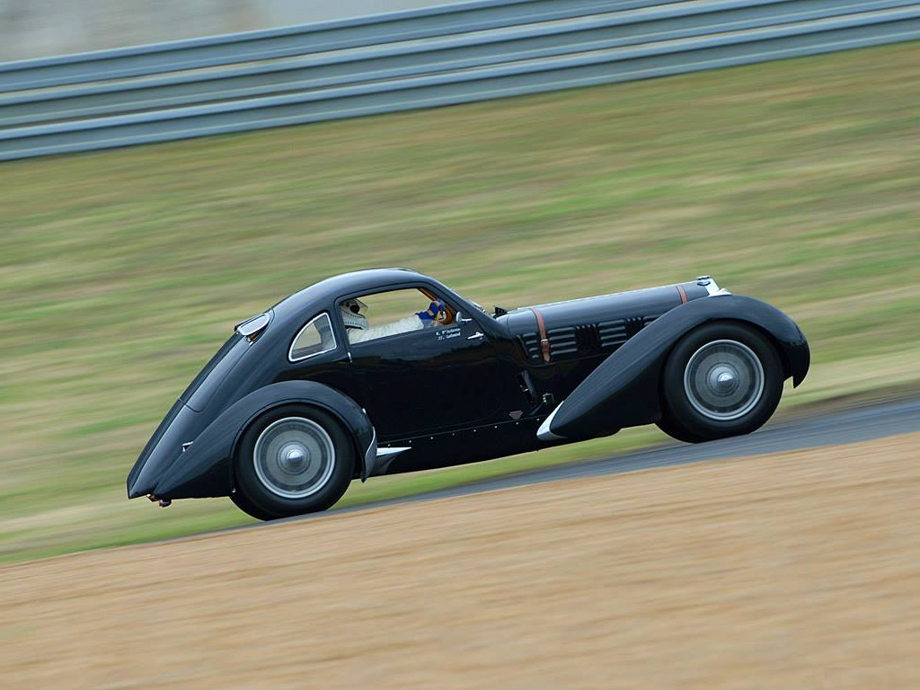 1936-38 Delage D6-70 LeMans Coupe by Figoni & Falaschi