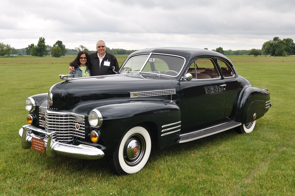 Phil & Helen Fischer - 1941 Cadillac Series 62 Coupe