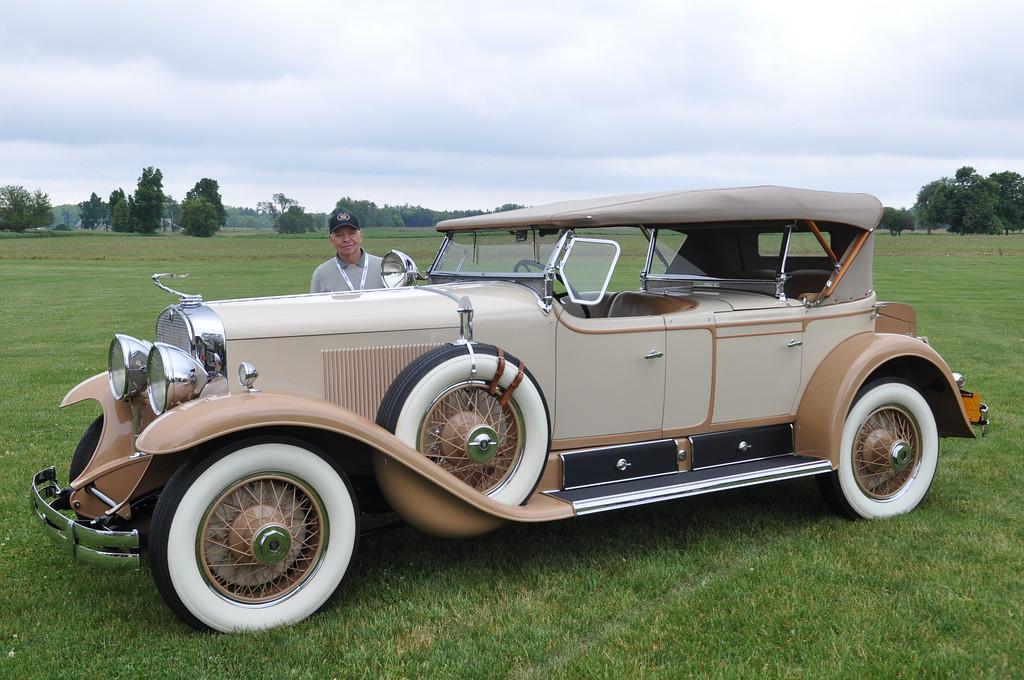 Skip Tetz - 1929 Cadillac Dual Cowl Sport Phaeton