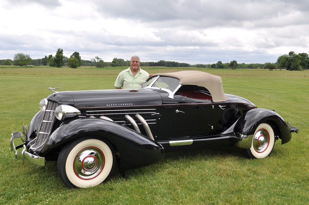 Greg Ornazian - 1936 Cord 8, 810 Cabriolet