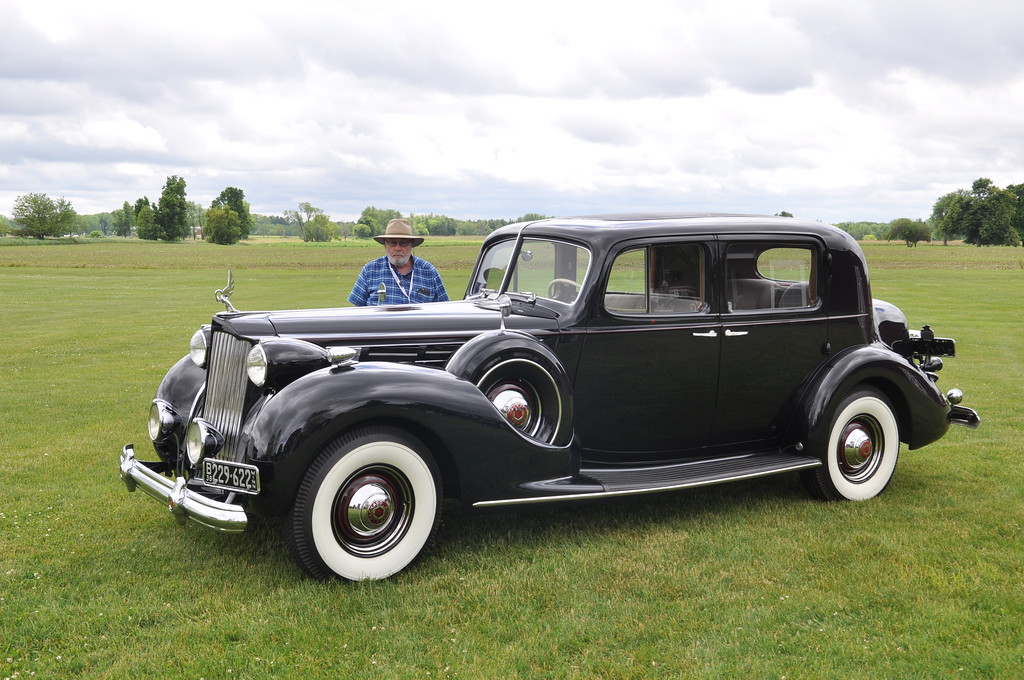 Tom Brace - 1938 Packard 12, 1607 Club Sedan