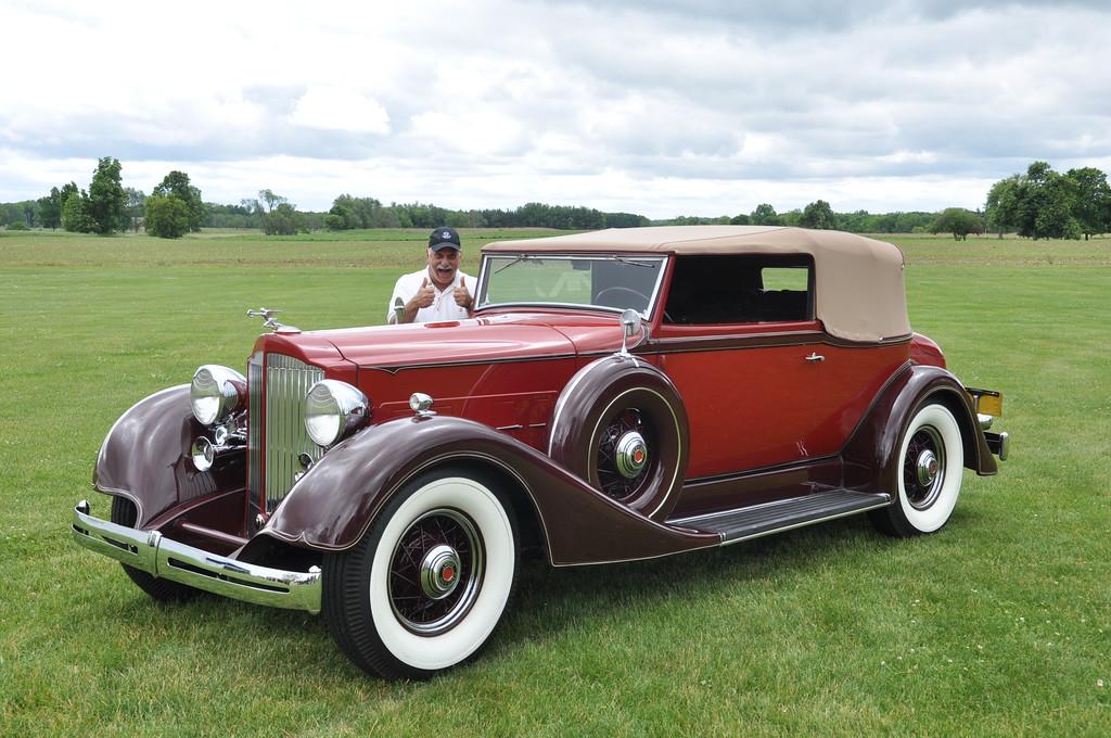 Greg Kosmatka - 1934 Packard 1101 Convertible Victoria