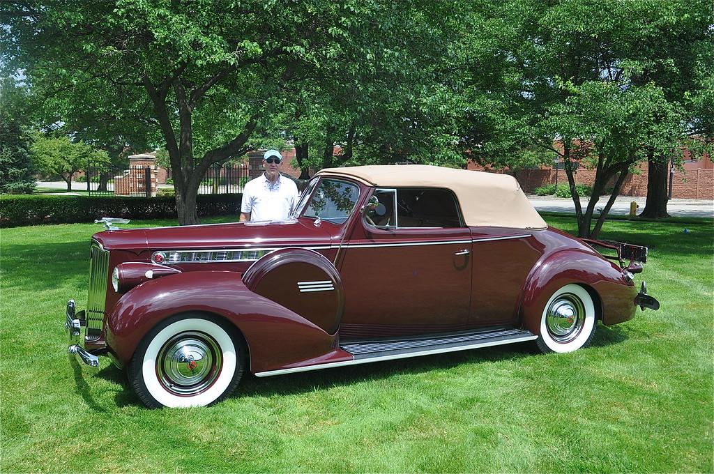 Dan Hanlon - 1940 Packard 1803 Convertible Victoria
