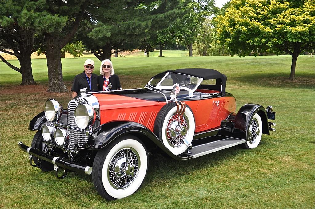 Richard & Helen Harding - 1928 Auburn 8, 8-88 Boat Tail Speedster