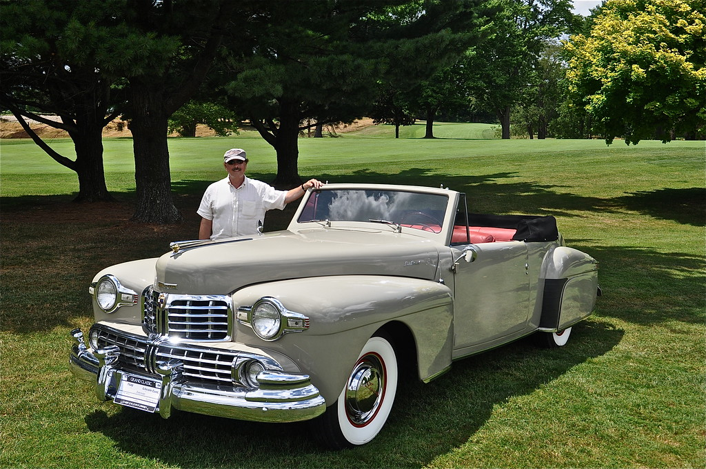 Roger Melton - 1948 Lincoln Continental Cabriolet