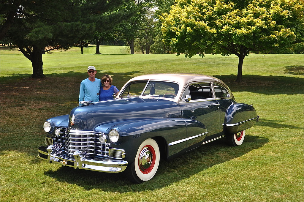Steve & Cheryl Cooley - 1942 Cadillac Series 62 Coupe
