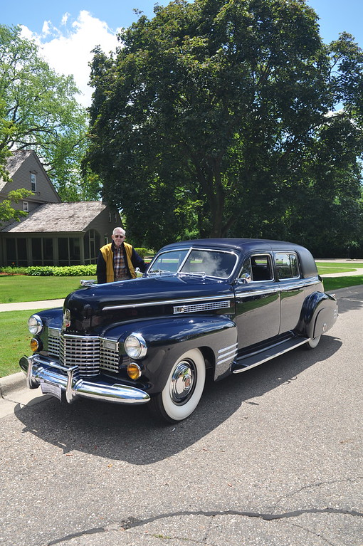 Dick Kughn - 1941 Cadillac 8, 75 Formal Limousine, Fleetwood