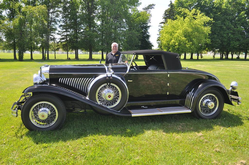 Greg Ornazian - 1929 Duesenberg 8, J-184 Convertible Coupe by Murphy