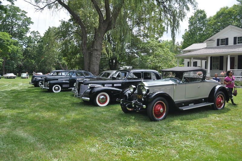 Park your Classic on the lawn for display